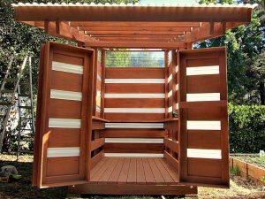 Du bois pour votre abri de jardin